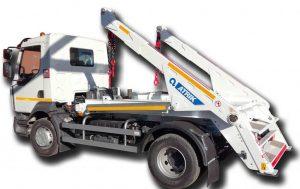 Skipploader ATRIK type SN83T lifting capacity of 8.5 tonnes