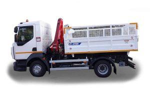 Tipper truck volume of 5 m3 - ATRIK KIP 5