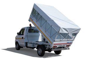 Tipper vehicle volume of 3 m3 - ATRIK KIP 3