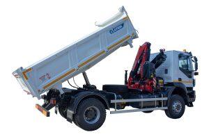 Tipper vehicle 8 m3 volume - ATRIK KIP 8