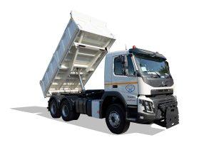 Tipper vehicle 12 m3 volume - ATRIK KIP 12