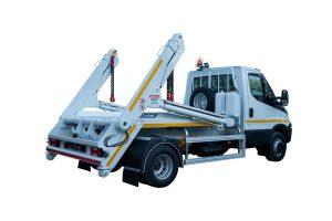 Skipploader ATRIK type SN6 lifting capacity of 6 tonnes