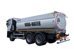 Tank truck ATRIK type PRA for transport of water and washing of roads