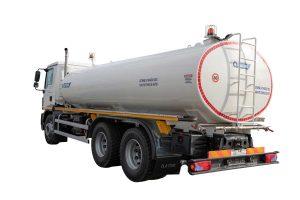 Tank truck ATRIK type PRA for transport of water and watering