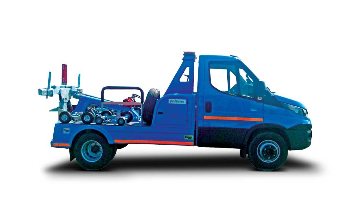 Spider truck Foima