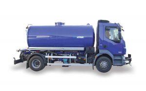 Tank trucks for water