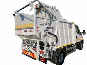 Garbage truck ATRIK type MS with discharge via waste disposal