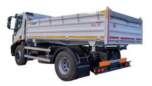 Tipper vehicle capacity of 7 m3 - ATRIK