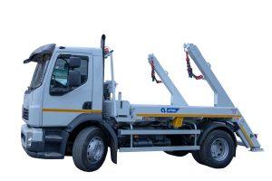 Skipploader ATRIK type SN 83T lifting capacity of 8.5 tonnes