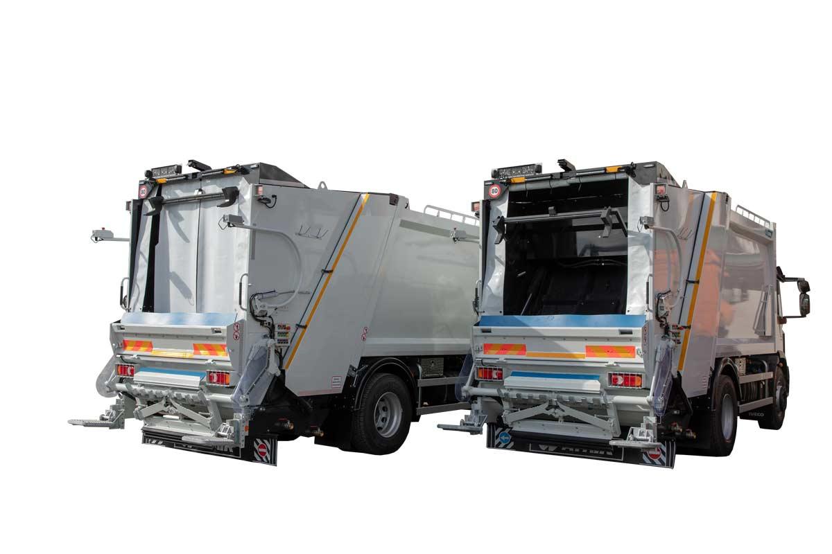 Press loading garbage vehicle ATRIK APO