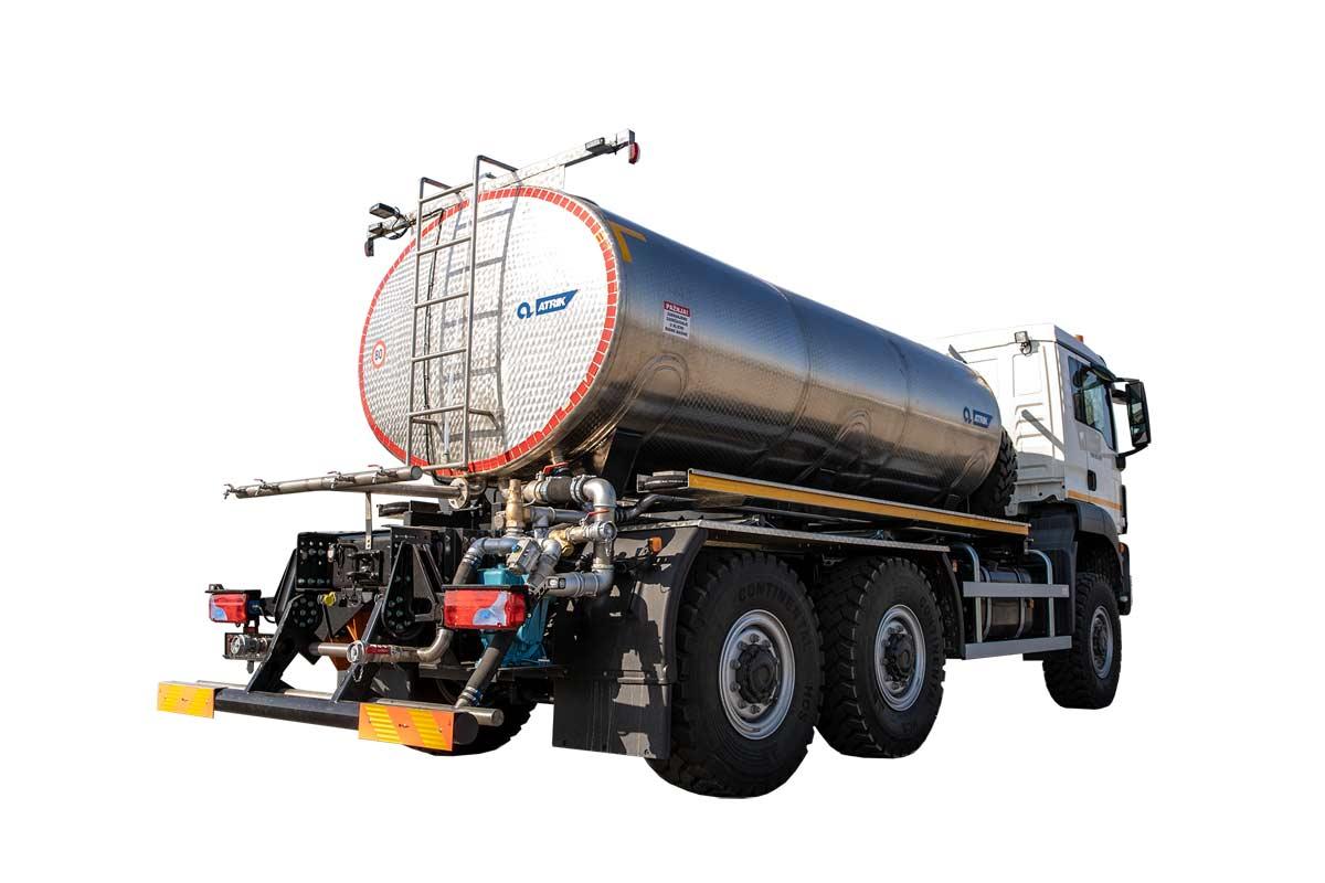 Tank truck ATRIK PRA for water transport and road washing