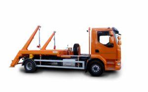 Skipploader ATRIK type SN 83 lifting capacity of 8.5 tonnes