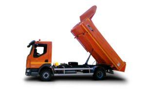 Tipper vehicle ATRIK KIP 8